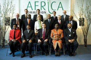 Africa Commission Group Photo