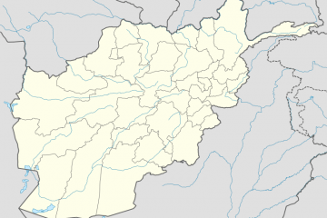 Bamiyan map