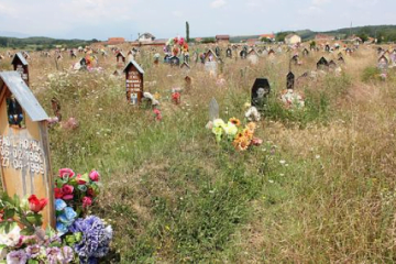 War graves in Kosovo