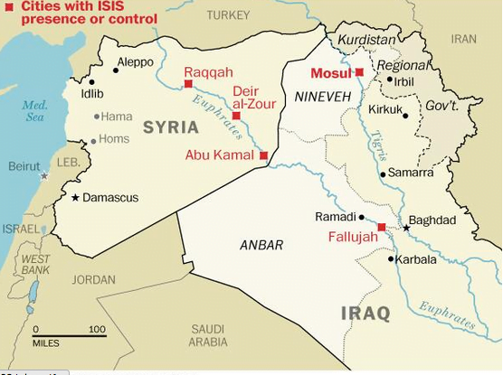 Mosul Iraq Map Map of the Day: Has Al Qaeda Won the Iraq War? | UN Dispatch Mosul Iraq Map