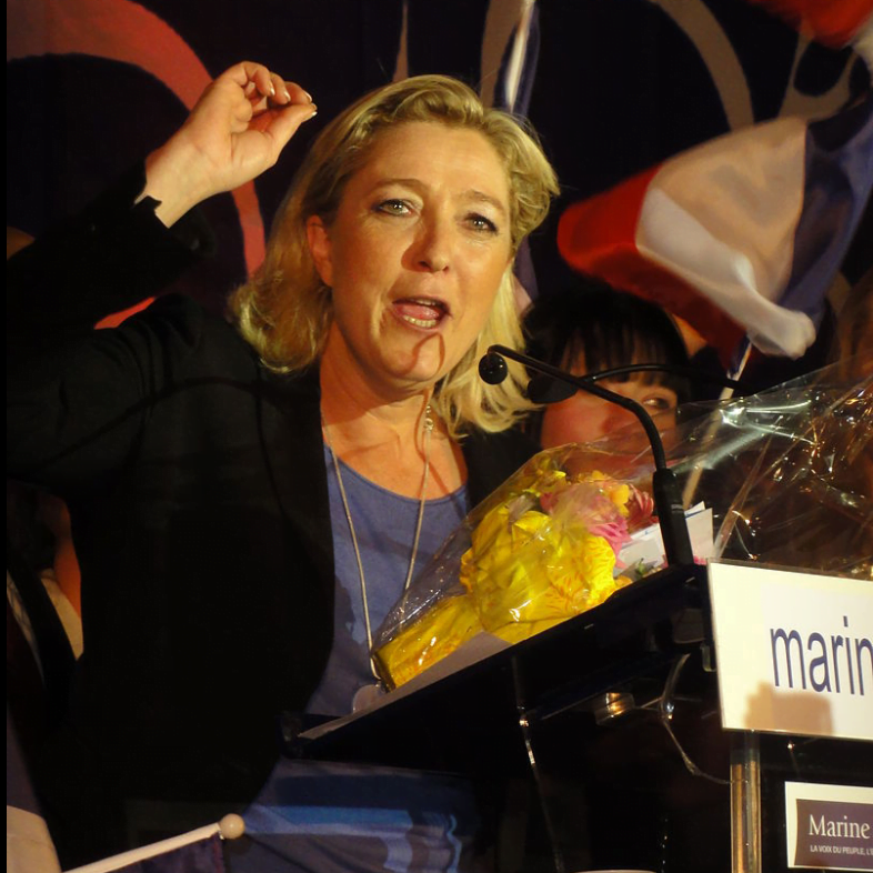 Marine Le Pen, credit: wikipedia