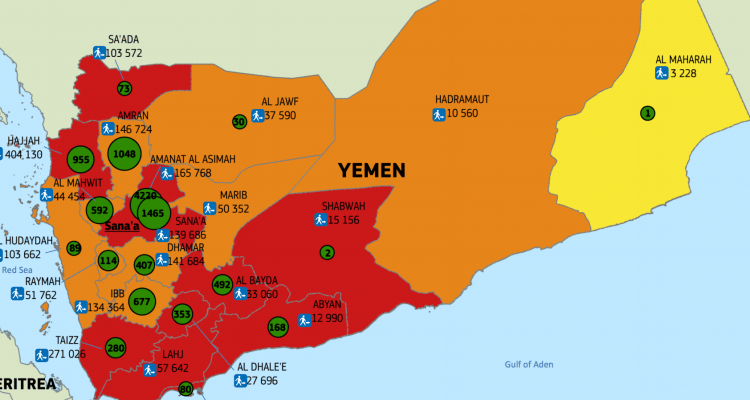 Map of the day in yemen a looming famine and current cholera map of the day in yemen a looming famine and current cholera outbreak form a deadly nexus un dispatch gumiabroncs Images